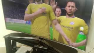 Me play FIFA 19 Chelsea vs Manchester city