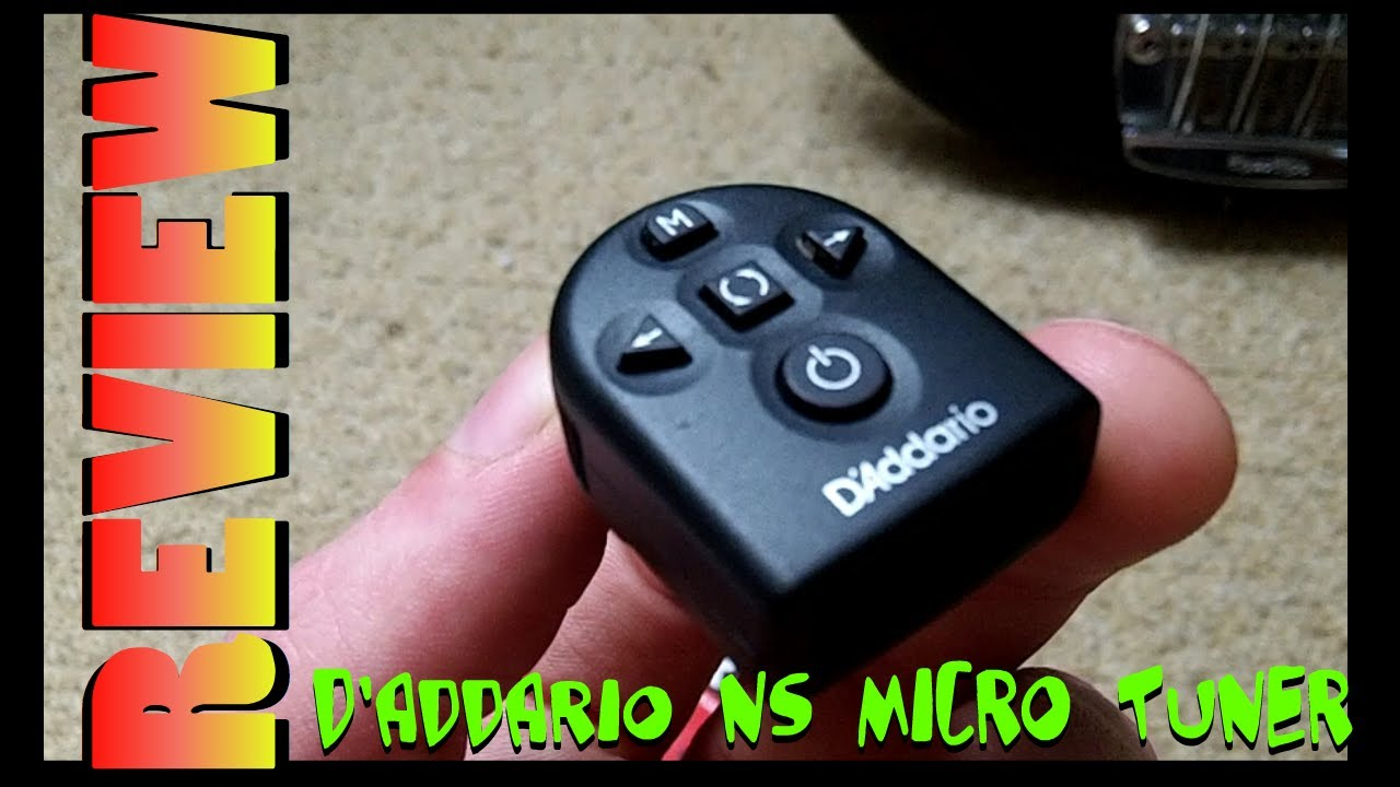 d 39 addario planetwaves ns micro tuner youtube. Black Bedroom Furniture Sets. Home Design Ideas