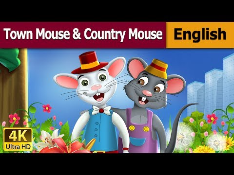 Town Mouse And The Country Mouse in English | English Story | Bedtime Stories | English Fairy Tales