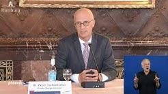 Pressekonferenz zu Hamburgs Corona-Maßnahmen