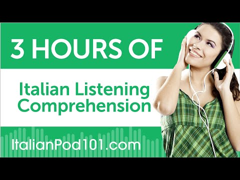 3 Hours of Italian Listening Comprehension