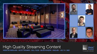 High Quality Streaming Content (English)