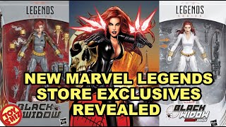NEW Marvel Legends Store Exclusives REVEALED
