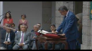 Revilla toma posesión como presidente de Cantabria