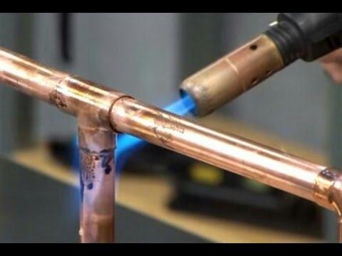 Soldar tuberias de cobre caso real cooper pipes welding - Tuberias de cobre ...