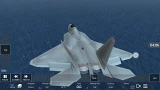 infinite flight lockheed f 22 flight simulator game play plane takeoff landing simulador vuelo f22