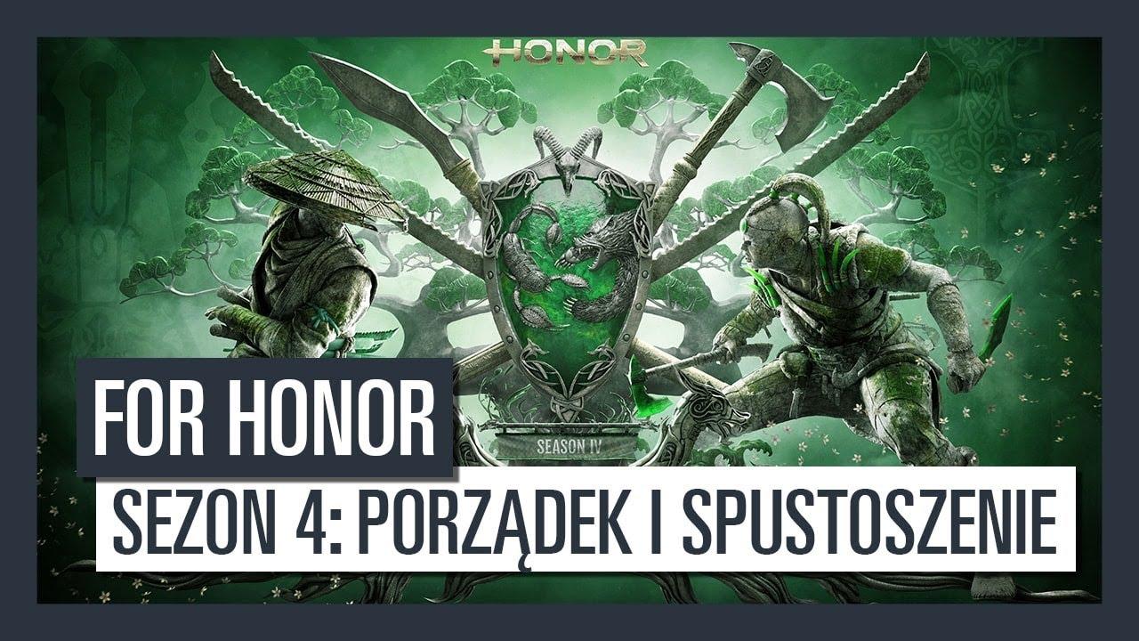 For Honor Sezon 4: Porządek i Spustoszenie