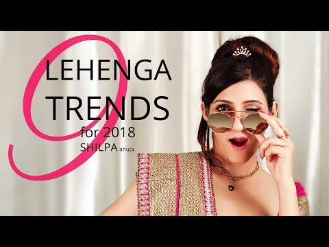 latest-lehenga-trends-2018:-lehenga-designs-for-girls-from-fashion-week