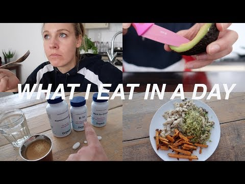 WHAT I EAT IN A DAY (inclusief supplementen)