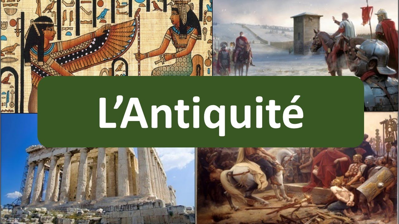 P02 La Frise Historique L Antiquite Youtube