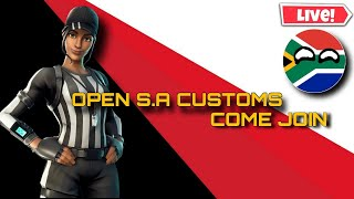 Fortnite Open South African Customs