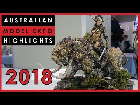 The 2018 Australian Model Expo Experience