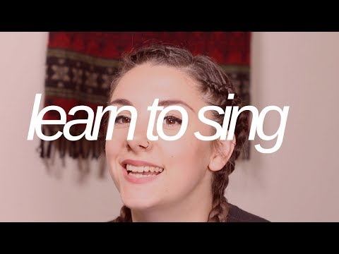 LET ME TEACH YOU HOW TO SING!