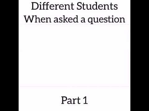 Download Maraji Different students when asked a question.