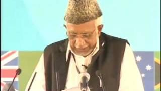 Ahmadiyya Moulvi Umar Sb Nazir Islao-Ishaat Speech at Jalsa Salaana Qadian 2009 - Part 1