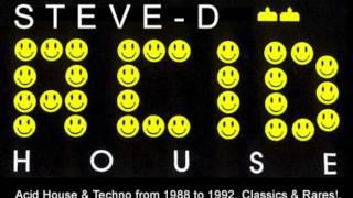 Steve-D aka Tevatron - Acid House & Techno from 1988 to 1992. Classics & Rares