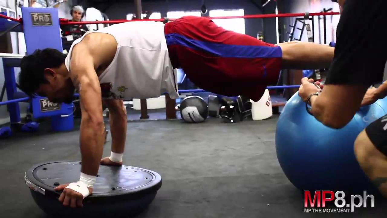 Manny Pacquiao Strength Workout