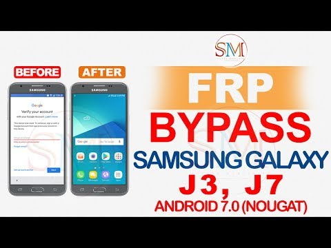 SAMSUNG GALAXY J3 PRIME J7 NEO FRP BYPASS GOOGLE ACCOUNT ANDROID 7.0 FEBRUARY 2019 PATCH
