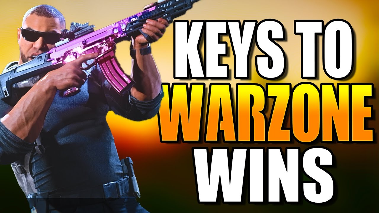 KEY To WINNING More in WARZONE! Get BETTER at WARZONE! Warzone Tips! (Warzone Training)