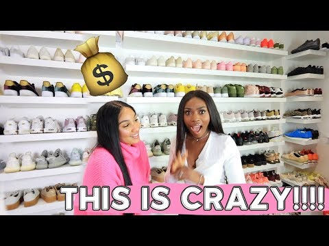 WORLDS BIGGEST SHOE COLLECTION *WARNING* YOU WON'T BELIEVE HOW MANY SHE HAS!