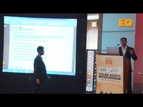 Brajesh Kumar, AGM-O&M, Distributed Solar, Renew Power at EQ Solar Assets Conference, Delhi