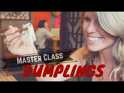 Master Class: Cooking Dumplings in Suzhou, China
