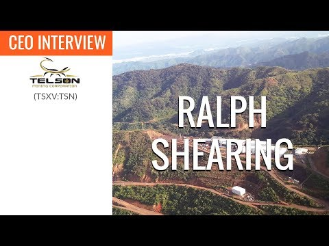 Telson Mining Corporation | We Just Turned From A Resource Company To A Mining Company