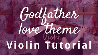 How to Play the Godfather Love Theme on the Violin
