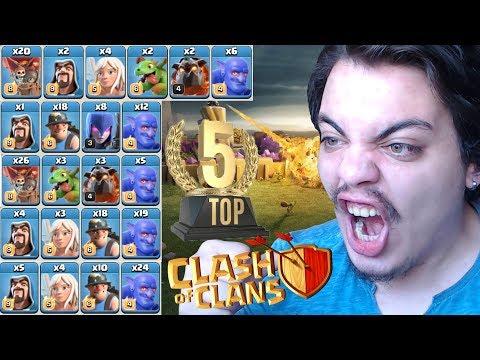 BARIŞ BRA'dan EN İYİ SALDIRI TAKTİKLERİ Clash of Clans thumbnail