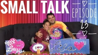 Small Talk with Lila Hart - Episode 23 - Mike Menendez