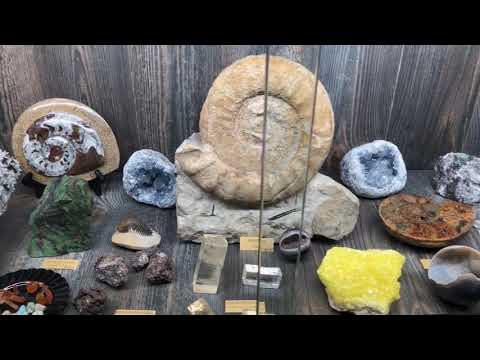 Crystals, Minerals, & Fossils - On The Square   Crown Point, IN