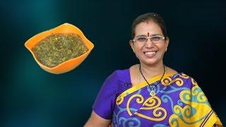Keerai Masiyal - Amaranth Leaves   Mallika Badrinath   Gravy Recipe For Rice