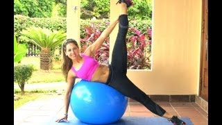 Leaner Legs-Tighter Body Workout with Swiss Ball