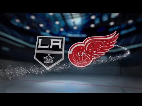 Los Angeles Kings vs Detroit Red Wings - November 28, 2017 | Game Highlights | NHL 2017/18  Обзор