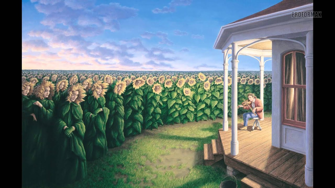 amazing rob gonsalves paintings youtube