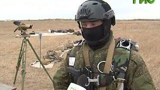 Бойцы подразделения спецназа 3-й отдельной бригады отлично себя показали на учениях