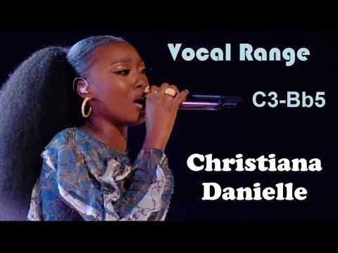 Christiana Danielle [The Voice] - Live Vocal Range (C3-Bb5)