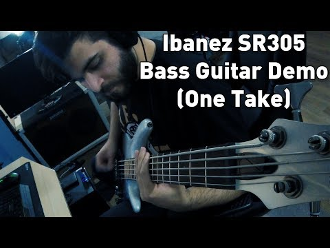 WhY DoNt YoU JuSt PlAy A BaSs?!? - Ibanez SR305 Pearl Fade Demo (One Take)