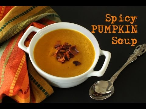 Spicy pumpkin soup recipe youtube spicy pumpkin soup recipe forumfinder Image collections