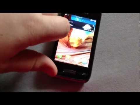 Samsung wave y Pattern Lockscreen