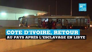 Côte d'Ivoire, retour au pays après l'esclavage en Libye