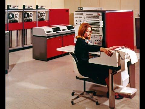 IBM System 360 Mainframe Computer History Archives  1964  SLT
