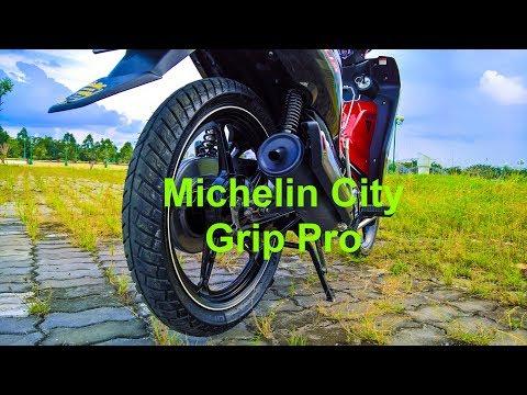 Đánh giá chi tiết lốp Michelin City Grip Pro 90/80 Sirius Fi lên lốp to