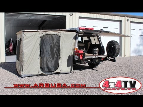 4x4TV Product Review - ARB Awning Enclosure