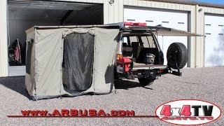 ARB Awning Enclosure - 4x4TV Product Review SEE ALL OUR OTHER VIDEO...
