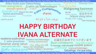 Ivana Alternate   Languages Idiomas - Happy Birthday