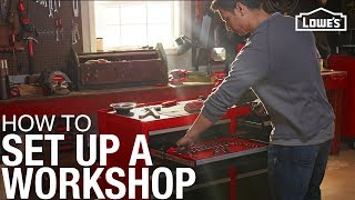 How To Set Up a Workshop | Tips for Planning a Garage Workshop