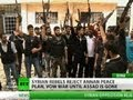 Syrian No-go: Rebels won't talk until Assad out