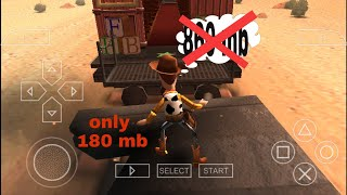 How to download Toy Story 3 highly compressed ||ppsspp|| game for Android by Sb gamer