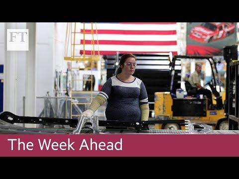 US GDP data, China bank results, Air France strike
